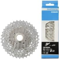 Zestaw kaseta i łańcuch do roweru