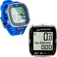 Licznik rowerowy i pulsometr