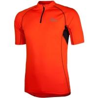 Rogelli Perugia Koszulka rowerowa pomarańczowa