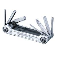Topeak Mini 9 Pro Narzędziownik 9 funkcji srebrny