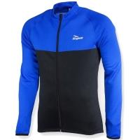 Rogelli Caluso Bluza rowerowa ocieplana czarno niebieska