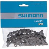Shimano CN HG40 Łańcuch 8/7/6 rzędowy + pin
