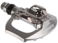 Shimano PD A530 Pedały szosowe SPD srebrne