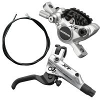 Shimano BR M785 + BL M785 Przedni hamulec tarczowy Deore XT 1000mm srebrny