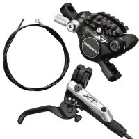 Shimano BR M785 + BL M785 Przedni hamulec tarczowy Deore XT 1000mm czarny
