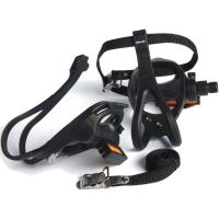 XLC PD R01 Pedały szosowe z noskami czarne