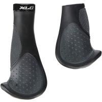 XLC GR S22 Chwyty ergonomiczne 135/92mm czarno szare