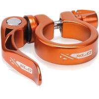 XLC PC L04 Zacisk sztycy 34,9mm z rączką pomarańczowy