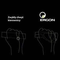 Ergon GS2 Racing Chwyty ergonomiczne białe