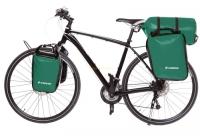 Crosso Dry Big (kpl.) 2x30L Sakwy rowerowe wyprawowe zielone