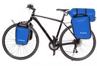 Crosso Dry Big (kpl.) 2x30L Sakwy rowerowe wyprawowe niebieskie