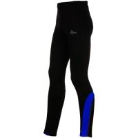 Rogelli Dunbar Spodnie do biegania długie czarno niebieskie