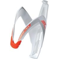 Elite Custom Race Koszyk na bidon biały czerwone logo