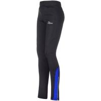 Rogelli Emna Spodnie rowerowe długie czarno niebieskie
