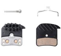 Shimano H03C Klocki hamulcowe metaliczne z radiatorami Saint Zee