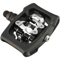 Shimano PD T400 Pedały Platformowe SPD Clic R Czarne + bloki