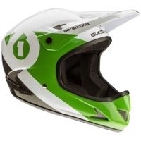 SixSixOne 661 Rage Kask Full Face czarno zielony
