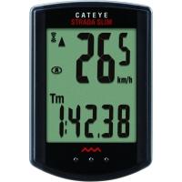 Cateye Strada Slim CC RD310W licznik rowerowy 8 funkcyjny czarny