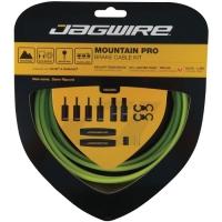 Jagwire Mountain Pro Zestaw linek i pancerzy hamulca MTB zielony
