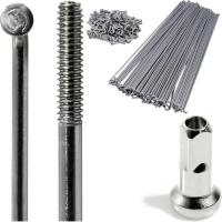 CNSPOKE STD14 Szprycha 2.0mm 176-200mm srebrna + nypel