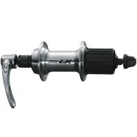 Shimano FH T670 Deore LX Tylna piasta srebrna
