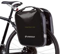 Crosso Dry Big Click (kpl.) 2x30L Sakwy rowerowe wyprawowe czarne