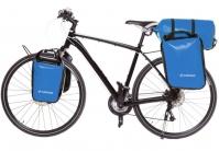 Crosso Dry Big (kpl.) 2x30L Sakwy rowerowe wyprawowe jasno niebieskie