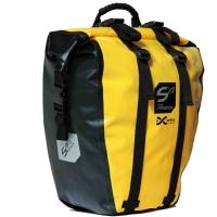 Sport Arsenal Expedice 312 Wodoszczelna sakwa boczna na bagażnik żółta