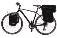 Crosso Dry Big (kpl.) 2x30L Sakwy rowerowe wyprawowe czarne
