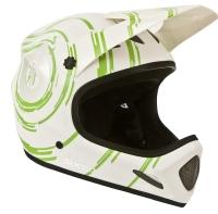 SixSixOne 661 Evolution Inspiral Kask biało zielony
