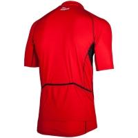 Rogelli Perugia Koszulka rowerowa czerwono czarna