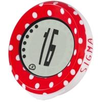 Sigma MySpeedy licznik rowerowy dziecięcy czerwony