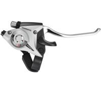 Shimano ST EF51 Altus Klamkomanetka 3 rz. lewa srebrna