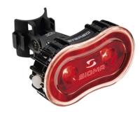 Sigma Sport Stereo Tylna lampka LED 0,5W USB