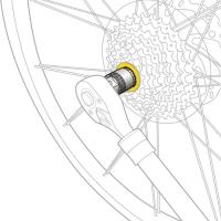 Topeak Freewheel Remover Klucz do kaset Shimano Sram