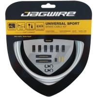 Jagwire Universal Sport Zestaw linek i pancerzy hamulca MTB Szosa biały