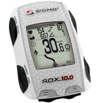 Sigma Sport Rox 10.0 GPS Set Licznik rowerowy biały