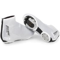 Accent Aero Ochraniacze Lycra na buty rowerowe białe