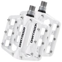 Dartmoor Stream Pro Pedały platformowe maszynowe białe