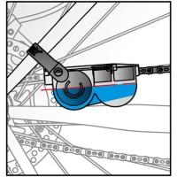 IceToolz Chain Scrubber Przyrząd do czyszczenia łańcucha