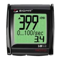 Sigma MC 18 Moto Licznik rowerowy do motocykla skutera motoroweru