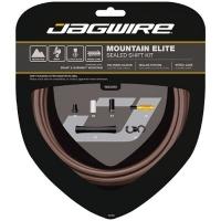 Jagwire Road Elite Sealed Zestaw linek i pancerzy przerzutki szosa brązowy