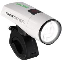 Sigma Sportster + Mono Zestaw Lampek z portem USB białe
