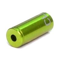 Clarks Końcówka pancerza przerzutki alu CNC 4mm zielona