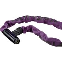 Kryptonite Keeper 785 Chain Łańcuch 85cm z zamkiem na klucz purpurowy