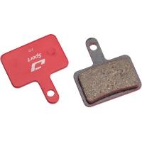 Jagwire Klocki hamulcowe tarczowe Sport Shimano M515 / M445 / M395 pół-metaliczne