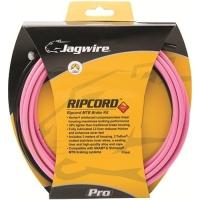 Jagwire Ripcord Zestaw linek i pancerzy hamulcowych różowy