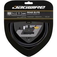 Jagwire Road Elite Sealed Zestaw linek i pancerzy hamulca szosa czarny