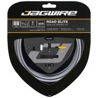 Jagwire Road Elite Sealed Zestaw linek i pancerzy hamulca szosa szary