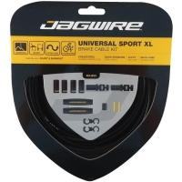 Jagwire Universal Sport XL Zestaw linek i pancerzy hamulca MTB Szosa czarny